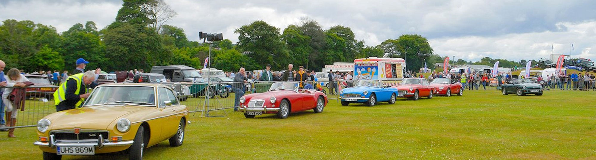Tain Vintage Car Rally
